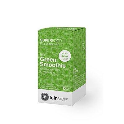 Feinstoff Green Smoothie to go Portionsbeutel (15x 8g) (bio, vegan, glutenfrei, roh)