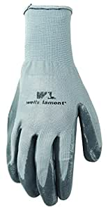Wells Lamont Work Gloves, Nitrile Coated, Extra Large, 3 Pair Pack (546XLF)