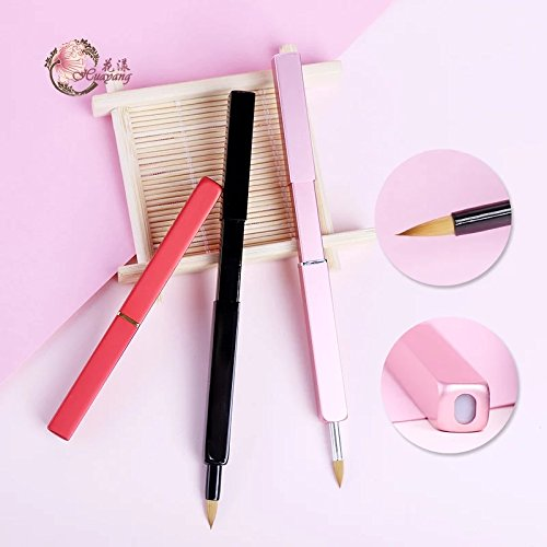 Aesthetica Pro Series Lip Brush - Perfect for Controlled and Precise Lip Application - For Use with Lip Sticks, Glosses and Creams by Jinri