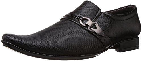 Albert \u0026 James Men's Black Formal Shoes