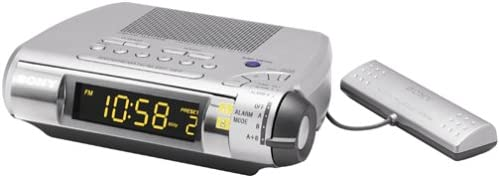 Sony ICF-C255RC AM FM Clock Radio Discontinued by Manufacturer