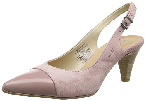 Marc Shoes Alice, Damen Slingback Pumps, Rot (rose 610), 38 EU