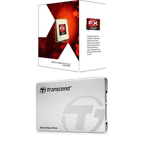 AMD FX-6300 6-Core Processor Black Edition & Transcend 25...