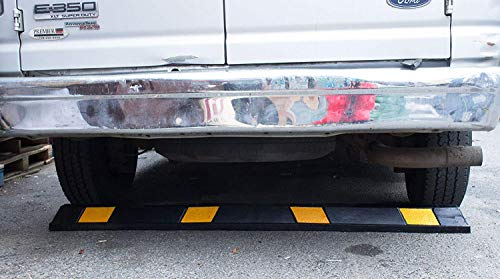 RK-BP72 Heavy Duty Rubber Parking Curb, Parking Block, 72 -inch for Car, Truck, RV and Trailer Stop Aid with 4-Piece Anchor Kit by RK (Image #4)