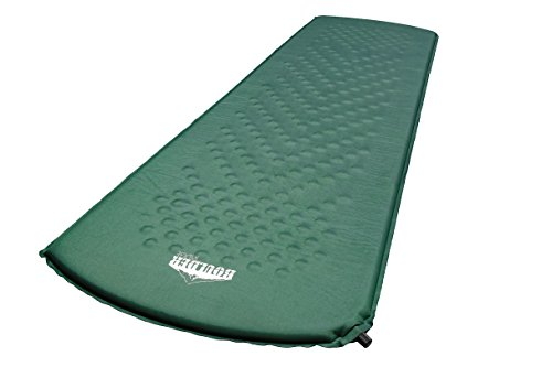 Boulder Ridge - Self Inflating Sleeping Pad. Perfect for Camping and Hiking - Durable and Compact