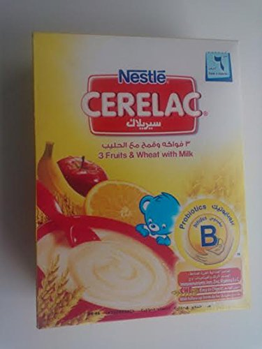 Nestle Cerelac 3 Fruitd & Wheat with Milk 200 gr
