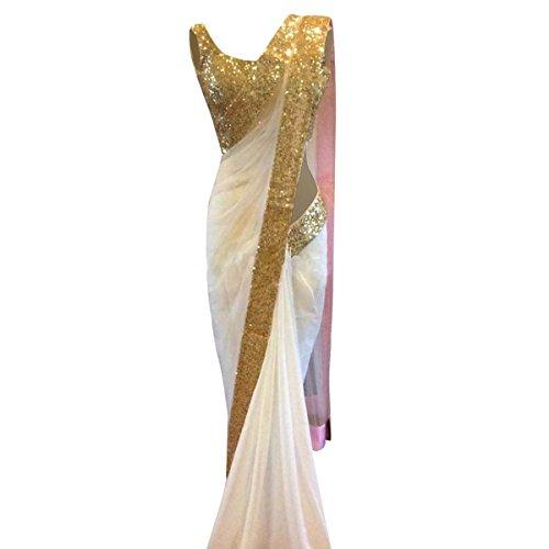 Indian Ethnic Bollywood Saree Party Wear Pakistani Designer Sari Wedding