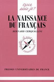 La naissance du français par Cerquiglini
