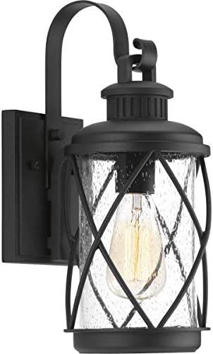 Progress Lighting P560080-031 Hollingsworth Wall Lantern, Black