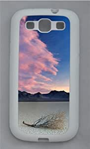 Death Valley National Park TPU Silicone Rubber Case Cover for Samsung Galaxy S3 SIII I9300 White