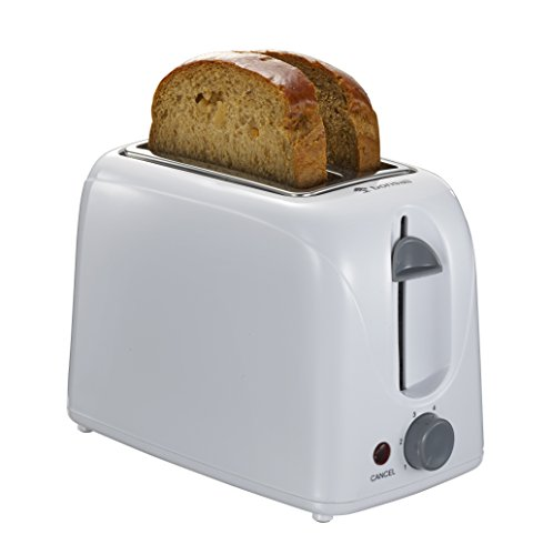 Oven Right Hinged (Bonsaii T868 2-Slice Compact Plastic Toaster with Stylish)