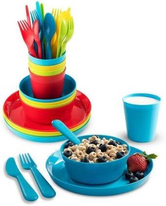 Plastic Dinnerware Set Plaskidy dinnerware product image