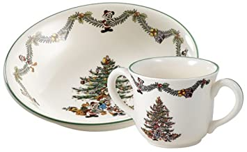 Spode Disney Christmas Tree Tableware Collection  sc 1 st  Amazon.com & Amazon.com | Spode Disney Christmas Tree Tableware Collection ...