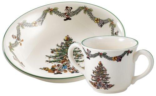 Amazon.com | Spode Disney Christmas Tree Tableware Collection Dinnerware Sets Dining \u0026 Entertaining  sc 1 st  Amazon.com & Amazon.com | Spode Disney Christmas Tree Tableware Collection ...
