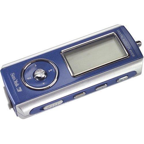 SanDisk 512 MP3 Player Blue