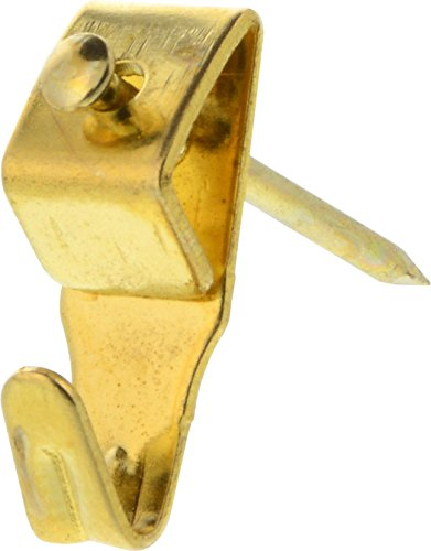 Hillman 122190 Brass Professional Picture Hangers 10lb 5 Pack