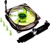Nanoxia FX series FX09-1400, 92x92x25mm Ultra Quiet Cooling Fan, 1400 RPM, 25.31 CFM, 13 dBA, 3-pin TAC connector