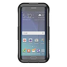 ABC® New Fashion Waterproof Shockproof Case Cover for Samsung Galaxy S6 Edge Plus (Black)