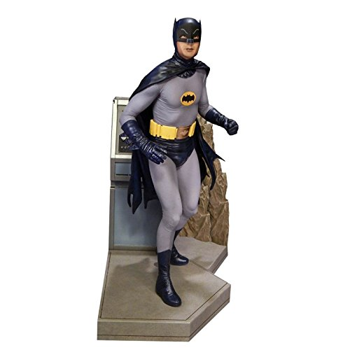 Batman Adam West Costume (Tweeter Head Batman 1966 Classic TV Series: Batman to The Batmobile Maquette Diorama Statue)