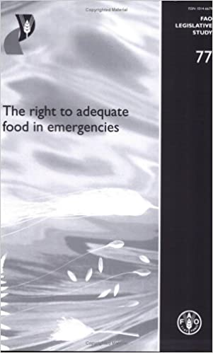 Rapidshare trivia ebook télécharger The right to adequate food in emergencies by Lorenzo Cotula iBook