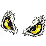 Potelin Premium Eagle Eyes Car Stickers Styling Removable Car Sticker Decoration