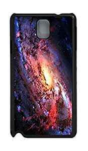 Fashion Style With Digital Art - Spiral Galaxy Skid PC Back Cover Case for Samsung Galaxy Note 3 N9000