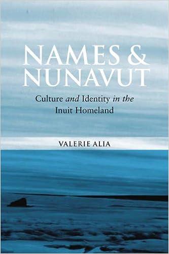 Téléchargez des ebooks pour kindle ipadNames And Nunavut: Culture And Identity in the Inuit Homeland by Valerie Alia en français