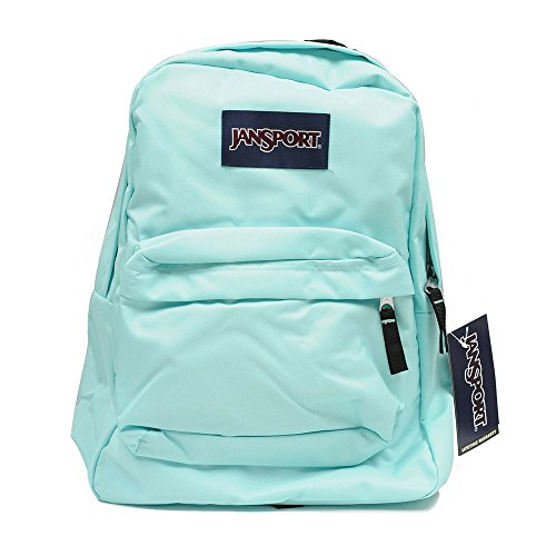 Amazon.com: JanSport T501 Superbreak Backpack - Aqua Dash: Sports ...