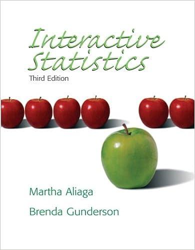 Amazon Com Interactive Statistics 3rd Edition 9780131497566