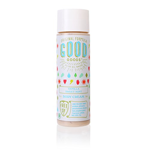 Original Good Goods Vanilla Sweet Mint Body Cream