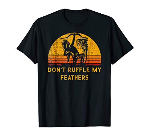 - Don't Ruffle My Feathers Native American Native Indian Shirt