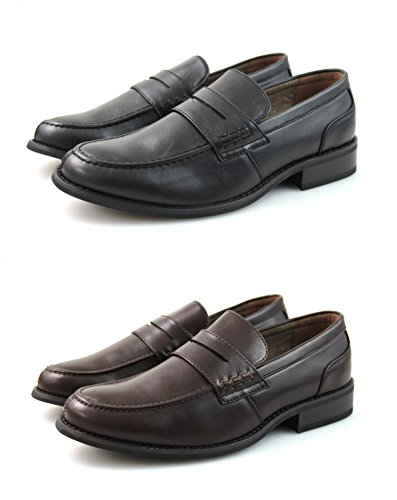 de Black para Marrón Hombre Neki White Material Blue Mocasines Navy Brown By Sintético qnOHEw0H4