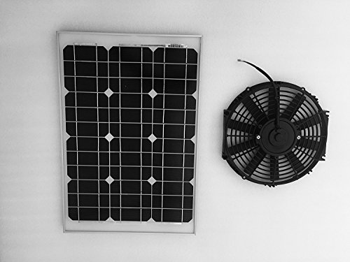 Amtrak Solar Attic Fan 40 Watt With 12