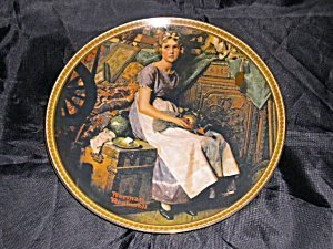 Norman Rockwell Dreaming in the Attic Plate by Knowles