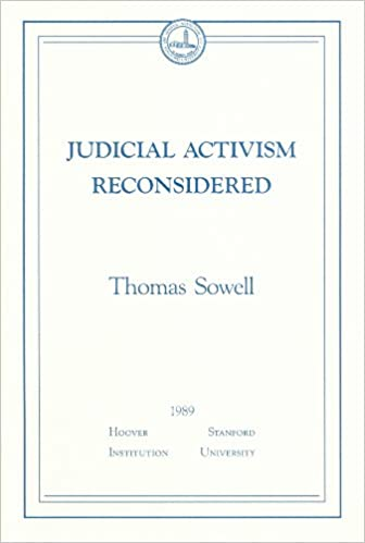 judicial activism reconsidered essays in public policy thomas  judicial activism reconsidered essays in public policy thomas sowell 9780817951825 com books