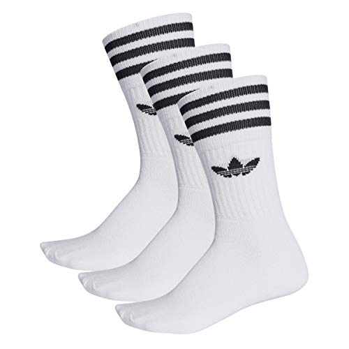 Adidas Solid Crew Socks Pack of 3