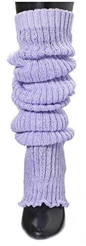 Lavender Girls Knee High Leg Warmers by KD dance New York Made In USA