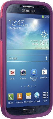 Otterbox Symmetry Series Case for Samsung Galaxy S4 - Retail Packaging - Crushed Damson