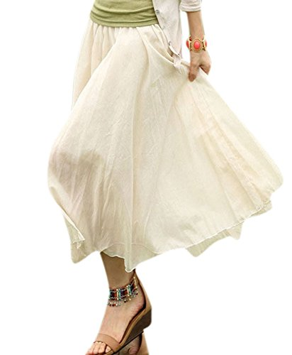 Babyhclub Cotton Bohemia Irregular Fairy Skirt Casual Beach Holiday Skirts