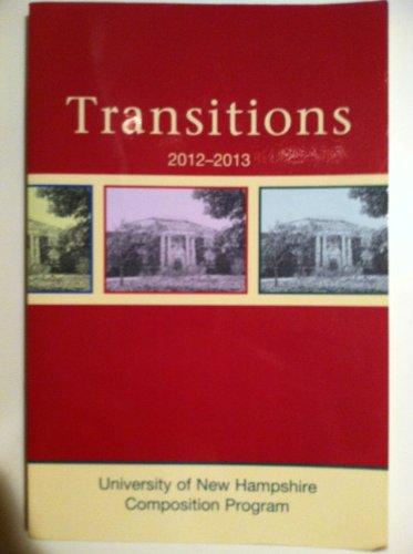 Transitions 2012-2013