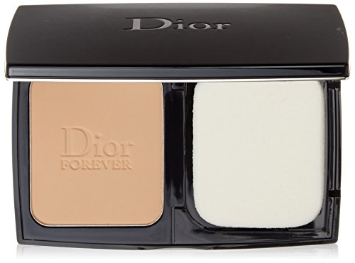 (Christian Dior Diorskin Forever Extreme Control Matte Powder Makeup SPF 20 Foundation for Women, Honey Beige, 0.31 Ounce)