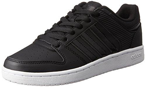 adidas VS HOOPSTER W - Zapatillas deportivas para Mujer, Negro - (NEGBAS/NEGBAS/FTWBLA) 39 1/3
