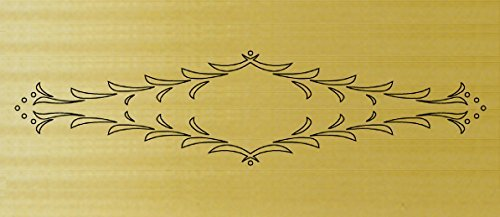 CMT RCS-504 Florentine Drawer Templates for Router Carver System by CMT