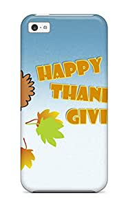 Tpu Shockproof/dirt-proof Thanksgivings Cover Case For Iphone(5c)