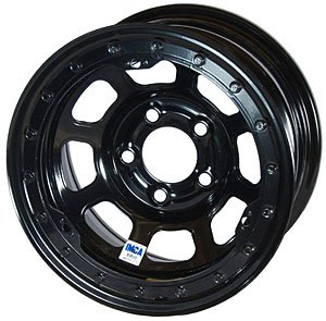 Bassett Wheels 58D53il Black Imca D Hole Beadlock Wheel Size  15  X 8