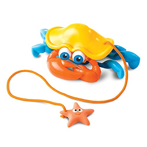 Fat Brain Toys Pull Along Pals - Crabby