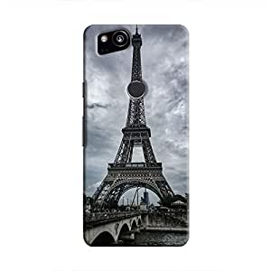 Cover It Up - Eiffel Grey Pixel 2 Hard case