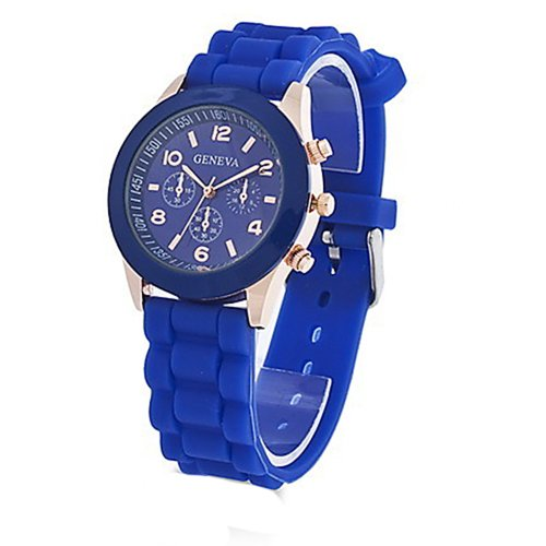 silicone jelly watch for men - 6