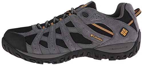 Columbia Men's Redmond Waterproof Hiking Shoe Black, Squash 7.5 D US by Columbia (Image #5)