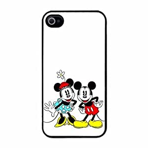 Cute Disney Retro Mickey & Minnie Mouse Posing iPhone 4 4s Case by icecream design
